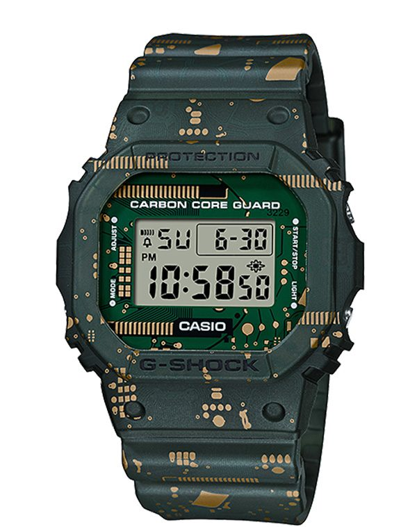 CASIO G-Shock Circuit Board Camouflage Limited Edition