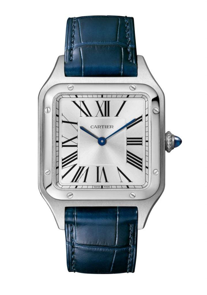 Cartier-Santos-Dumont-Blå