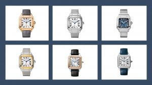 Cartier Santos modeller