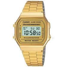 Casio 1572 A168 Guld